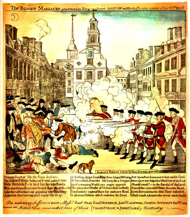 an introduction to the analysis of the boston massacre in the united states History lesson plans american history - connecting to the past adena & hopewell cultures: artifact analysis african slave trade african american slavery.